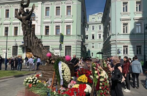 В Останкине почтили память жертв трагедии в Беслане 2004 года