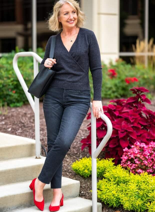 Яркие туфли: простая формула возрастного стиля