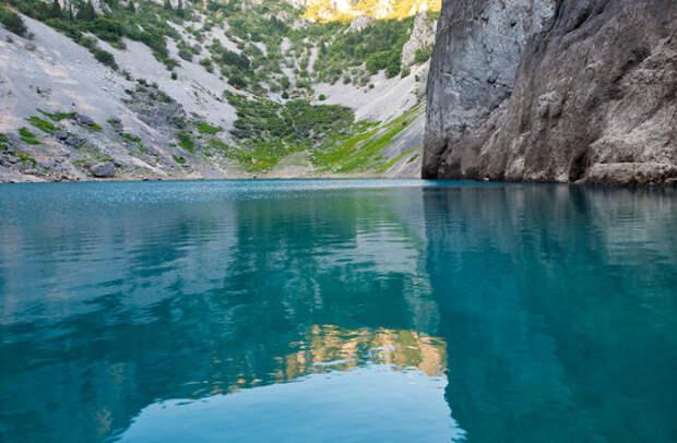 Хорватское карстовое Голубое озеро