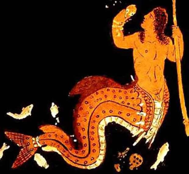 Изображение на античной вазе