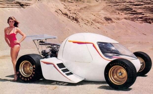Гоночное яйцо,1982 год