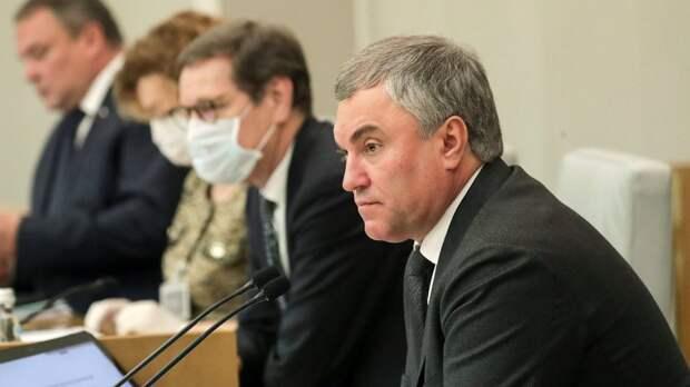 Володин выступил против анонимности в интернете после стрельбы в Казани