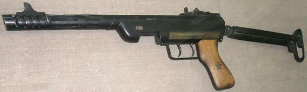 Пистолет-пулемет Сергеева в Белорусском музее истории Великой Отечественной войны. Фото: popgun.ru