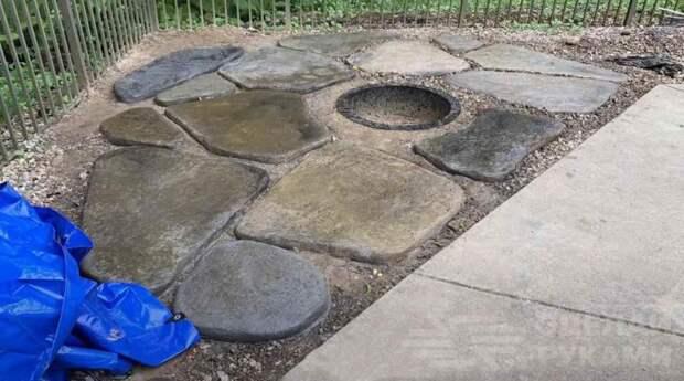 Как сделать большие камни для украшения участка