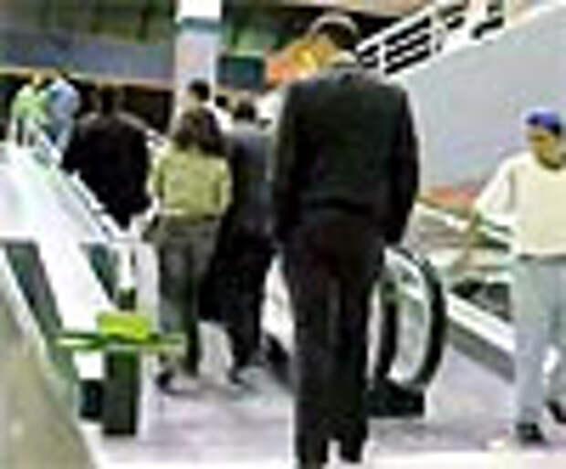 Салфетки Kleenex: эскалатор как символ бесконечности