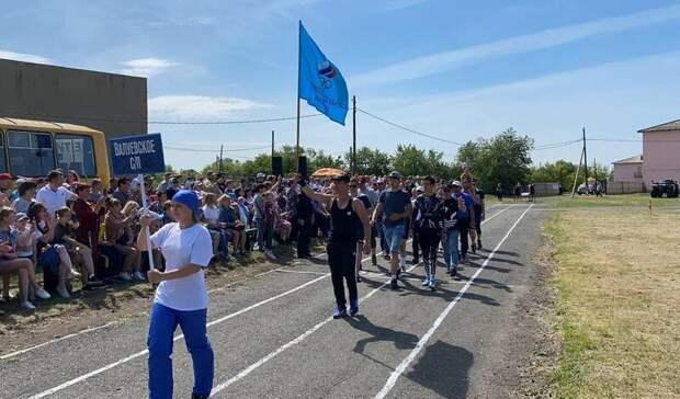 Оксана Фадина приняла участие в открытии праздника «Королева спорта. Валуевка – 2021»