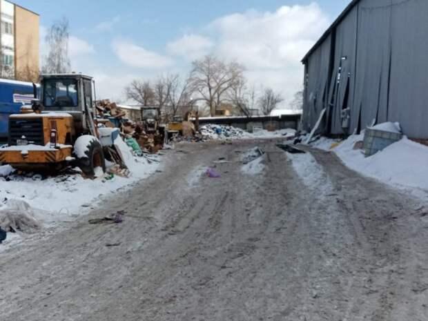 Территорию мусоросортировочной базы в 2-ом Лихачевском привели в порядок