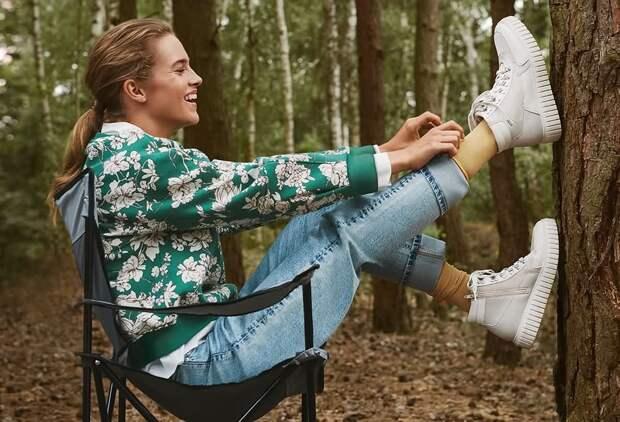 Обувь на шнуровке: выбирайте для осенних образов