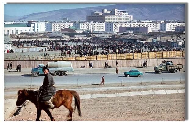 Столица Монголии в 70-х годах