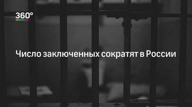 Число заключенных сократят в России