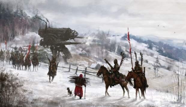 Роботы, гусары имонстры: мистический мир Якуба Розальского