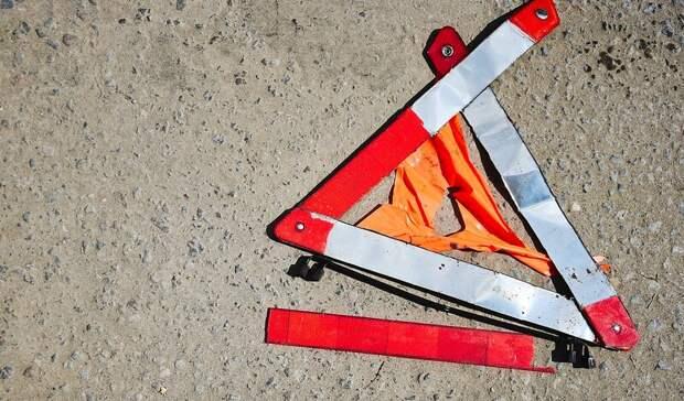 Водитель легковушки сбил юного велосипедиста вПетрозаводске
