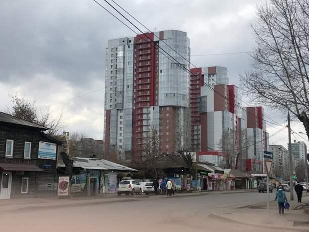 4. Красноярск контраст, красота, нефотошоп, новое и старое, различие, россия, фотография