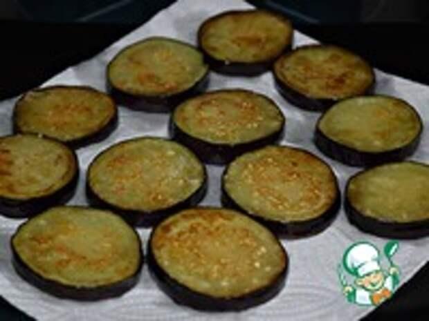 Острые жареные баклажаны на зиму ингредиенты