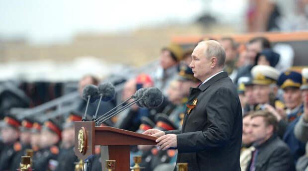 Владимир Путин нетрадиционно выступил на Дне Победы. Четырех особенностей в предыдущие годы не было