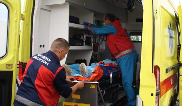 Врачи смогли спасти ногу водителю трамвая, которому грозила ампутация