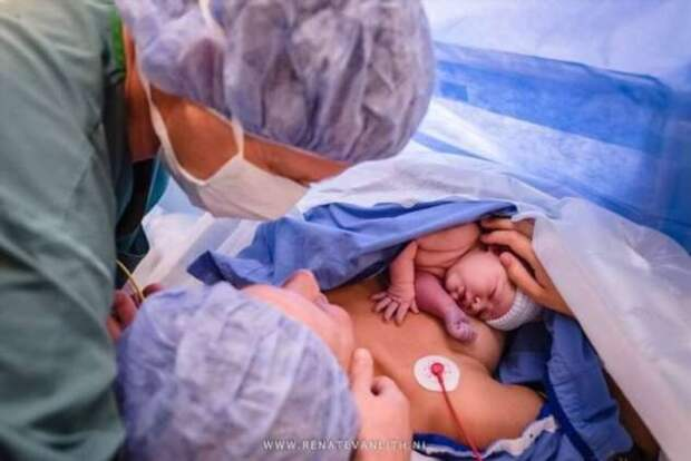 Рождение новой жизни: фотографии новорожденных и их мам