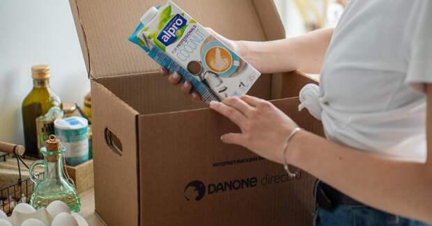 Danone отказалась от развития фирменного интернет-магазина в России