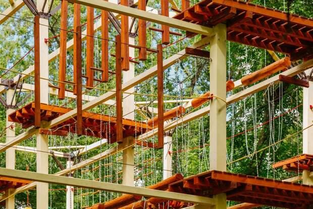 В пойме реки Чермянка построят веревочный лабиринт