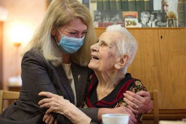 Ветеран из Бабушкинского отметила свой 104-й день рождения