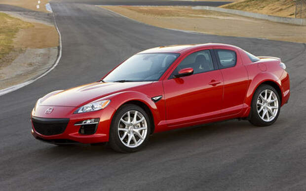 Mazda нашла дефектные подушки безопасности в RX-8 и CX-9