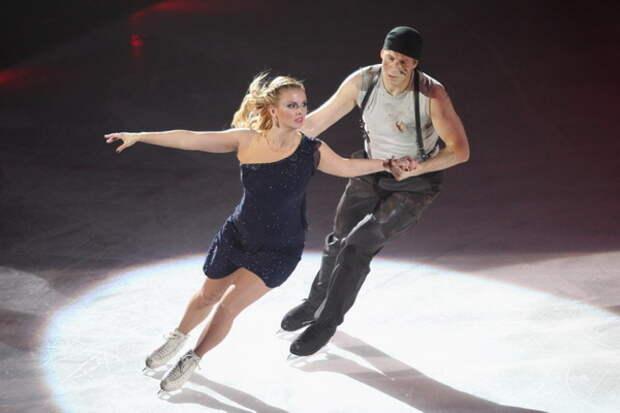 Анна Семенович на льду