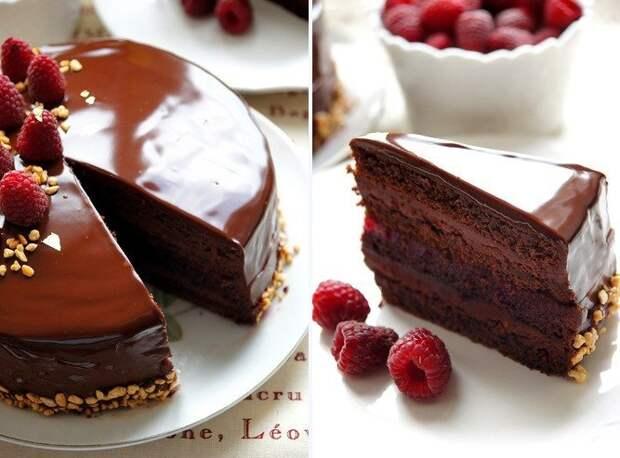 Вкуснейший Торт «Малиновый трюфель»