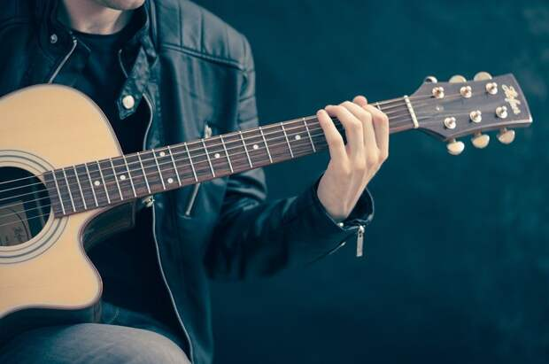 Гитара, Гитарист, Музыка, Игра На Гитаре