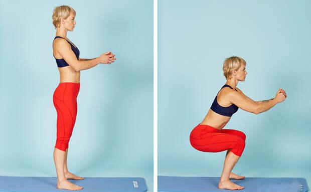 3 упражнения которые подтянут все тело за 1 месяц