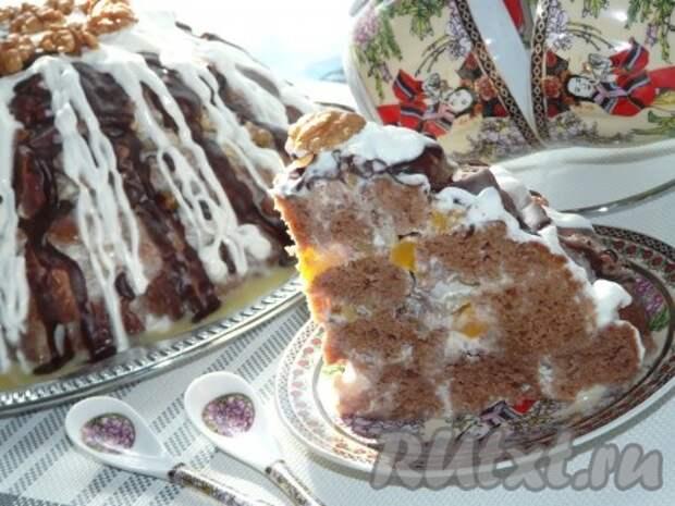 """Рецепт домашнего торта """"Панчо"""""""