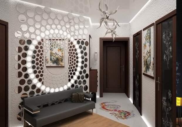 Декор стен: многообразие вариантов и сложности выбора (82 фото)