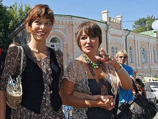 Милла Йовович и Галина Логинова