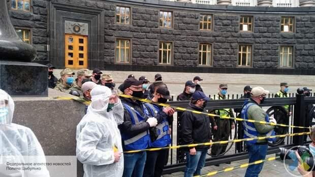 Украинские предприниматели протестуют против карантина