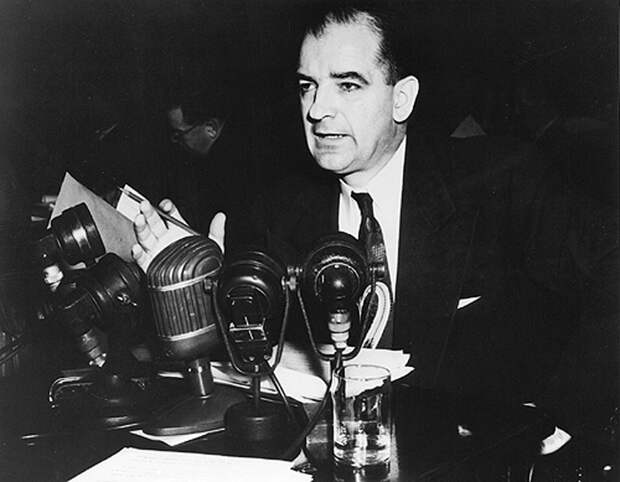Сенатор республиканец Джозеф Маккарти, ранние 50-е годы