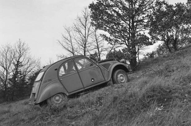 Ситроен с двумя моторами. Один из самых редких и необычных внедорожников авто, внедорожник, мотор, ситроен