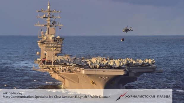 Авианосец ВМС США вторгся в Средиземное море