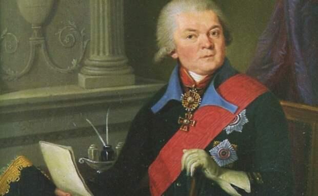 Обер-полицмейстер Николай Архаров.