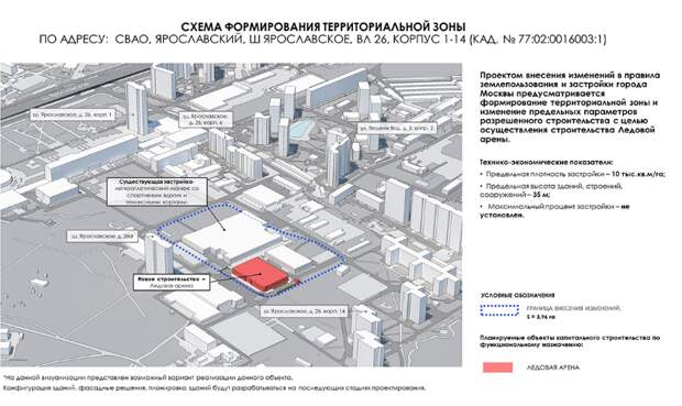 Жители Ярославского обсудят строительство Ледовой арены
