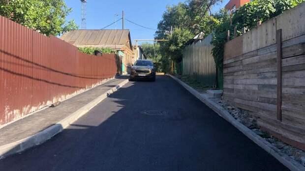 ВРостове начали массово асфальтировать грунтовые дороги