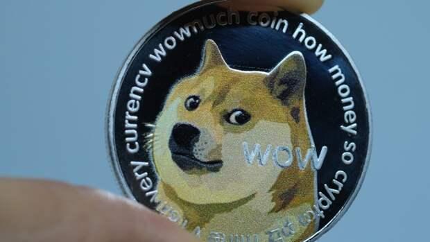 Криптовалюта Dogecoin подскочила за сутки на 55%