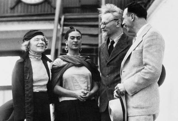 Наталья Седова, Фрида Кало и Троцкий, порт Тампико 7.01.1937