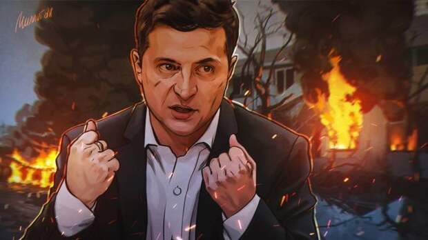 Националисты толкают Зеленского к блицкригу на Донбассе по примеру Карабаха
