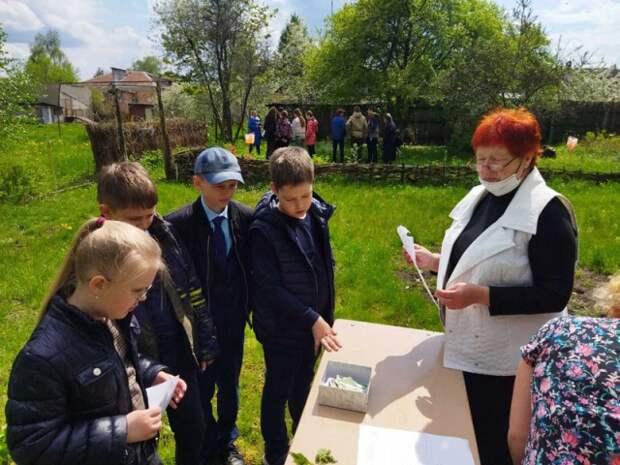 учащиеся ГУО ´Средняя школа № 30 г. Бобруйска´ приняли активное участие в городском конкурсе ´Юный натуралист´.