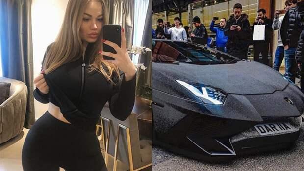 Красиво жить не запретишь: молдавская модель поразила Лондон своим суперкаром в миллионах страз