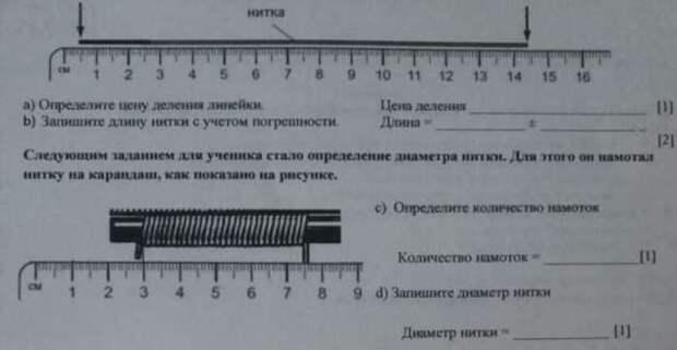 Как быстро узнать диаметр проволоки, если под рукой нет штангенциркуля