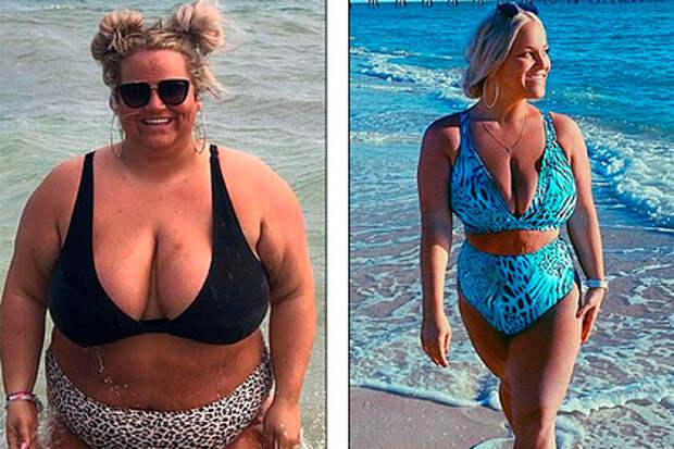 Учительница сбросила 79 килограммов и дала советы желающим похудеть