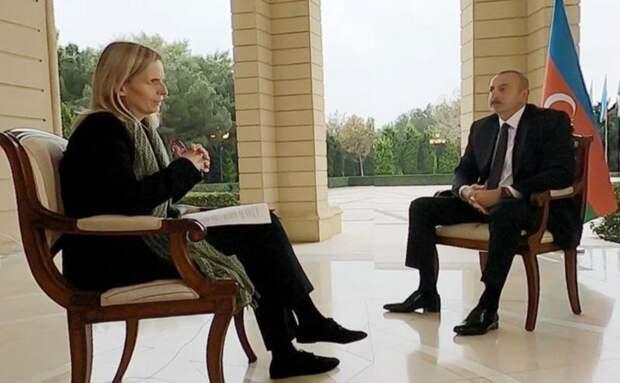 Резкий ответ Ильхама Алиева BBC News стал на Западе вирусным видео — 2.5 млн.