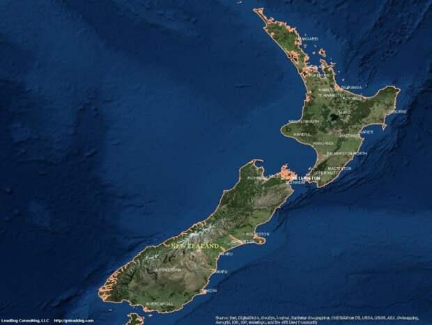 Зеландия может стать новым континентом