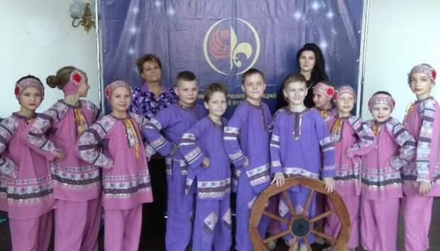 Коллектив из Подольска стал призером международного фестиваля танца