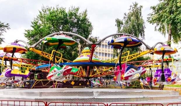 Фан-зону и Летний сад откроют в Ижевске в выходные